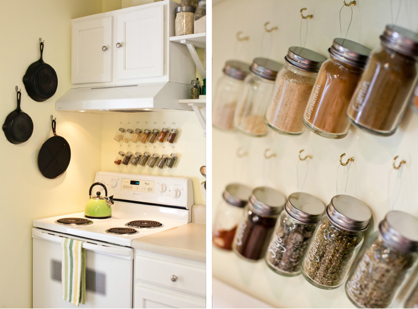Diy Spice Jar Storage Dream Green Diy