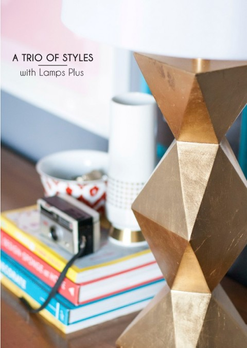 3 Ways To Style The Ripley Gold Table Lamp Dream Green Diy