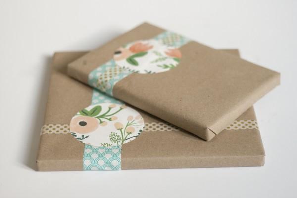 Simple Kraft Paper Gift Wrap - Dream Green DIY