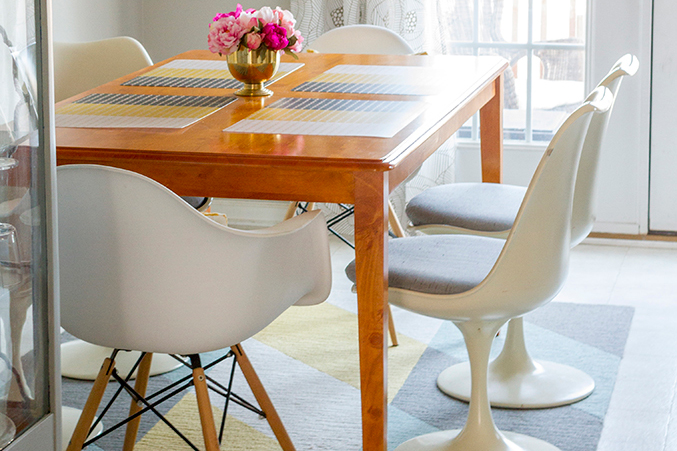 Before & After: Our Craigslist Dining Chairs - Dream Green DIY