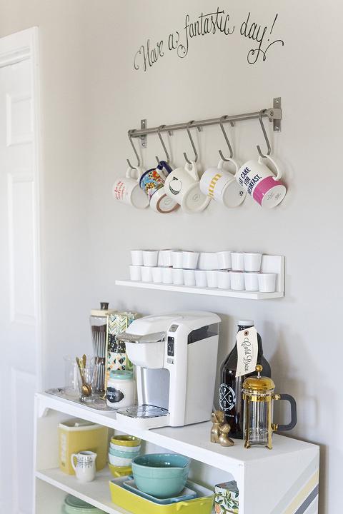 DIY Grundtal Bar IKEA Hack Coffee Styling