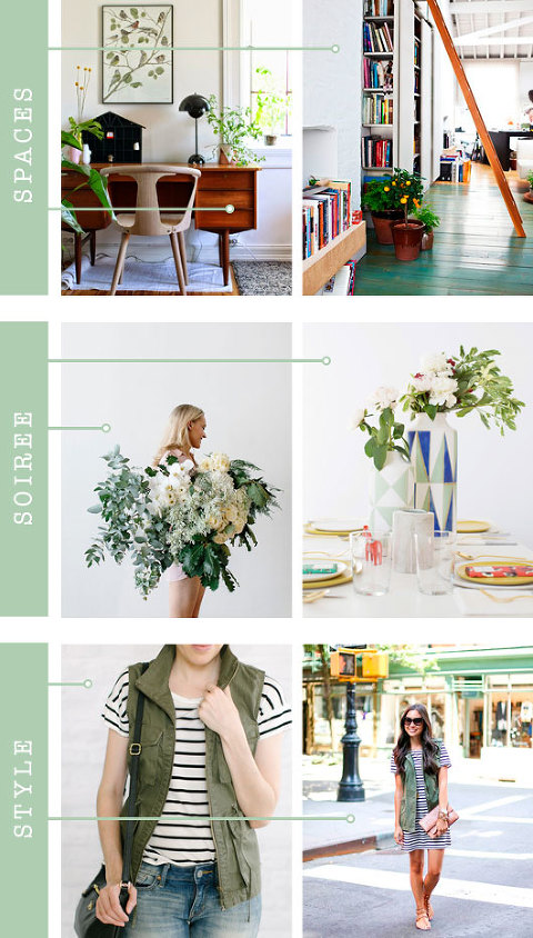 Spaces + Soirée + Style: Olive | Dream Green DIY