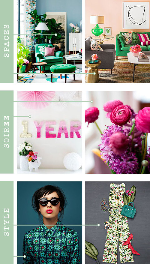 Spaces + Soirée + Style: BHG 2015 Color Palette Of The Year | Dream Green DIY