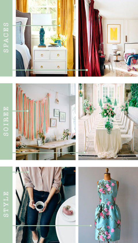 Spaces + Soirée + Style: Silk | Dream Green DIY