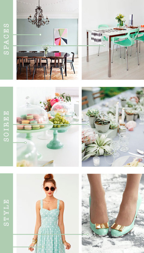 Mint Color Inspiration | Dream Green DIY
