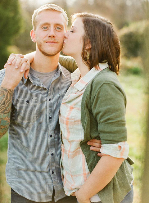 Engagement photo by Katie Stoops | Dream Green DIY