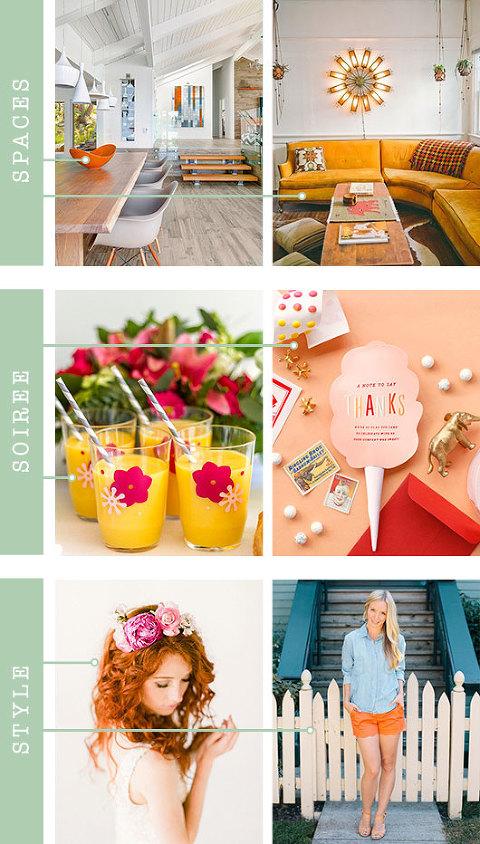 Tangerine Color Inspiration | Dream Green DIY