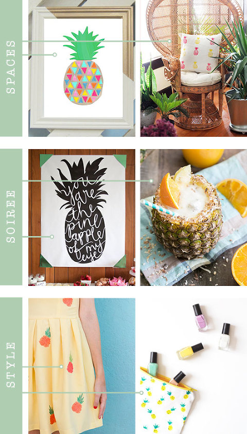 Pineapple Inspiration For Your Home & Life | Dream Green DIY