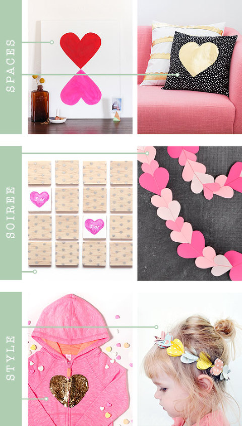 Heart-Shaped Inspiration For Your Home And Life | Dream Green DIY