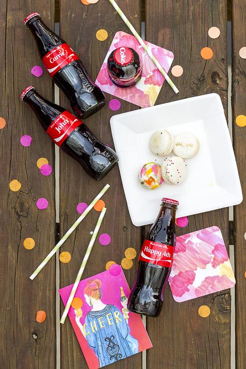 Three Tips For Hosting A Modern Fourth Of July Celebration | Dream Green DIY + Coca-Cola