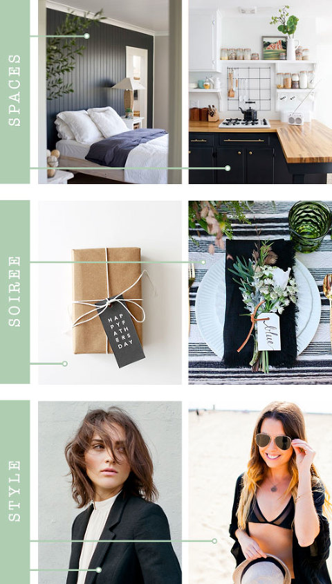 Black Color Inspiration For Your Home and Life | Dream Green DIY
