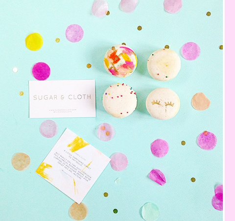 Instagram Snapshot: Sugar & Cloth macarons #glossaryofmocs   Dream Green DIY