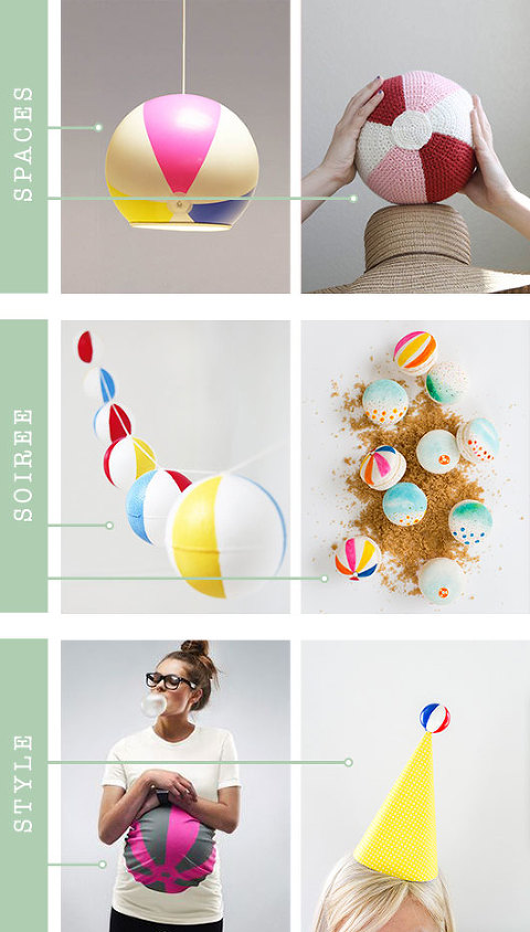 Beach Ball Themed Inspiration For Your Home & Life | Dream Green DIY
