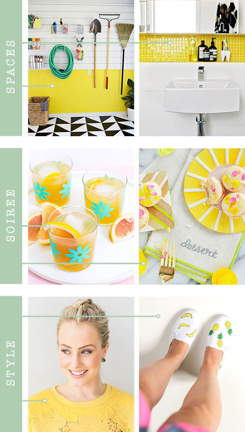 Yellow Inspiration For Your Home & Life | Dream Green DIY