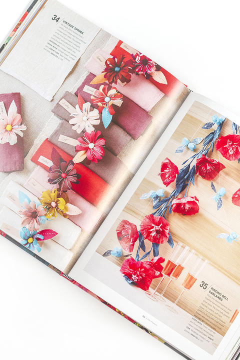 """A Review Of The Paper Flower Craft Book """"Paper To Petal""""   Dream Green DIY"""