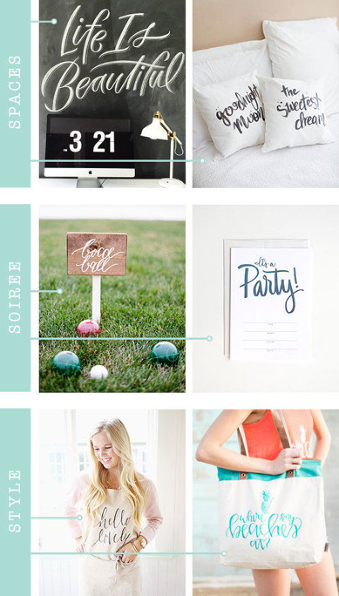 Calligraphy Inspiration For Your Home And Life | Dream Green DIY