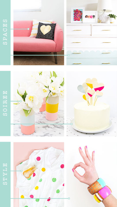 DIY Inspiration From The Blog, Sarah Hearts | Dream Green DIY