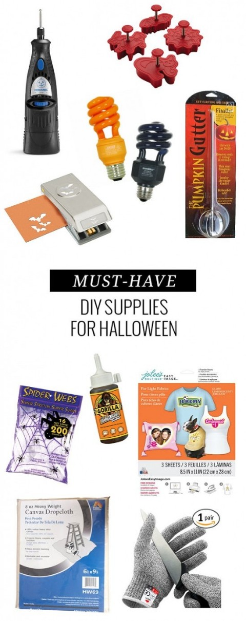 Top 10 DIY Supplies To Have On Hand This Halloween | Dream Green DIY