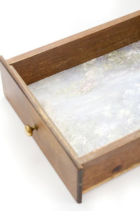 How To Turn Wallpaper Scraps Into Drawer Liners Dream Green Diy