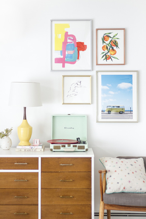 How To Master The Metallic Frame Fad | Dream Green DIY