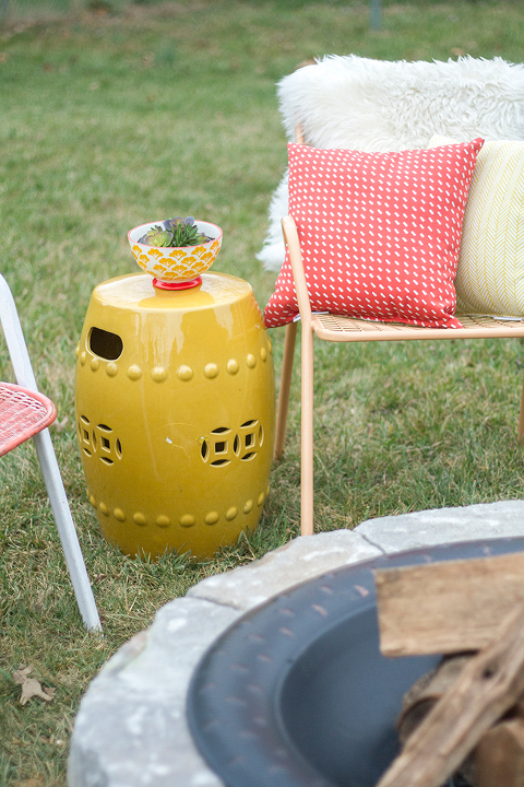How To Make A DIY Built-In Flagstone Fire Pit   Dream Green DIY & @ehow