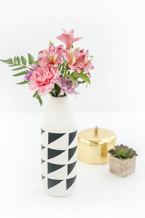 DIY CB2 Marlow Vase Look-A-Like Hack | Dream Green DIY