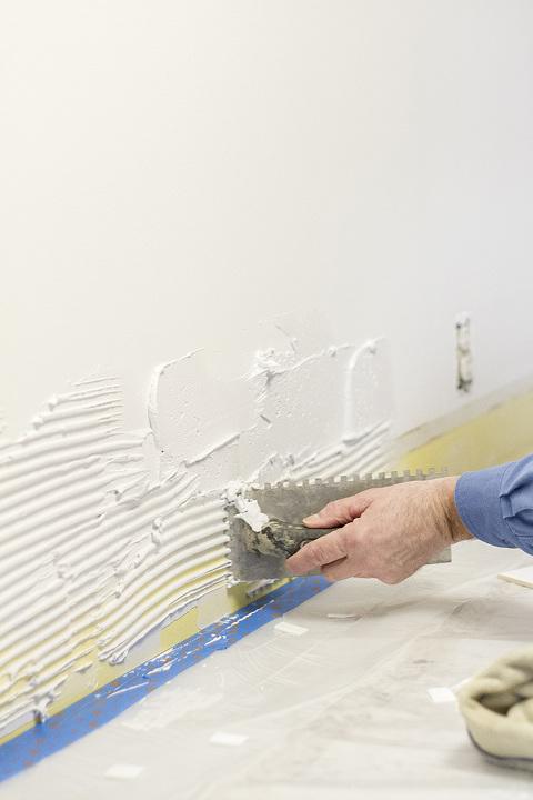 A White Subway Tile Backsplash Story Dream Green Diy