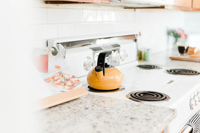 Budget Friendly Kitchen Makeover: Our Budget Friendly Mid-Century Kitchen Makeover