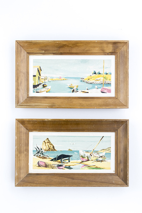 Thrifting For Vintage Artwork | dreamgreendiy.com