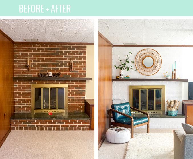 How To Properly Paint Brick Bright White