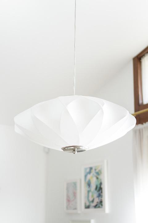 Retro Revival: Mid-Century Inspired @lampsplus Dining Room Chandelier   dreamgreendiy.com