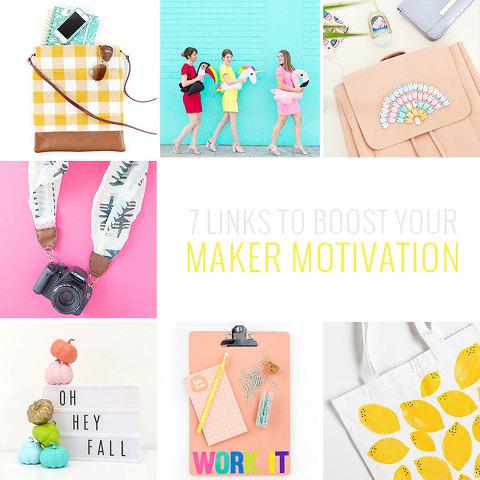 7 DIY Links To Boost Your Maker Motivation | dreamgreendiy.com