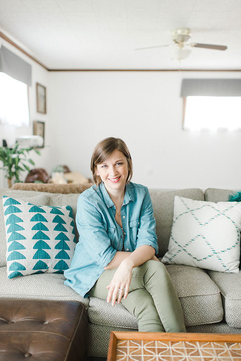 20 Things You Might Not Know About DIY Blogger Carrie Waller | dreamgreendiy.com