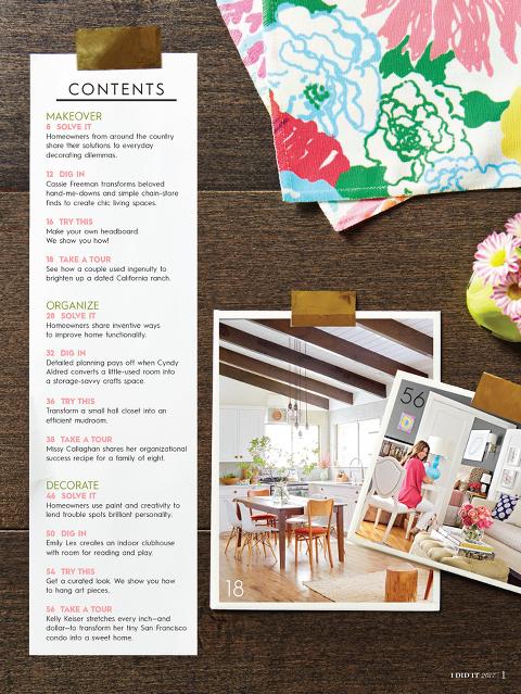 @bhg I Did It magazine | dreamgreendiy.com