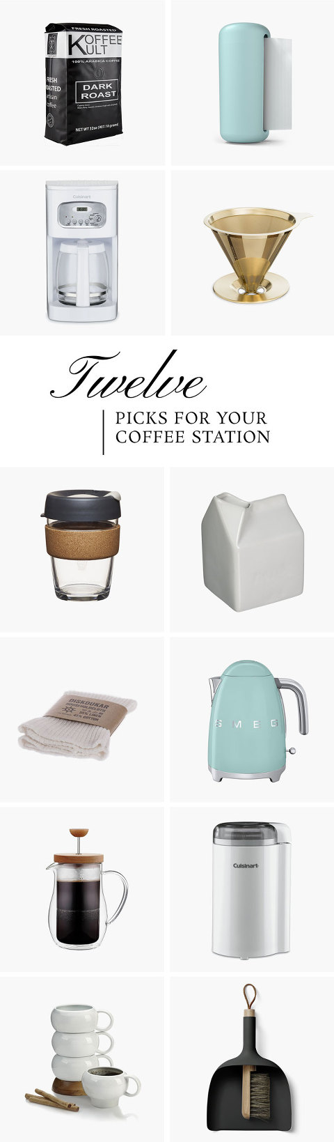 Everything You Need For Your Coffee Station | dreamgreendiy.com