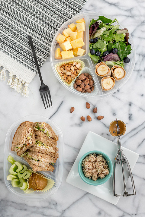 Two Versions Of A Mid-Week Bento Box Lunch | dreamgreendiy.com