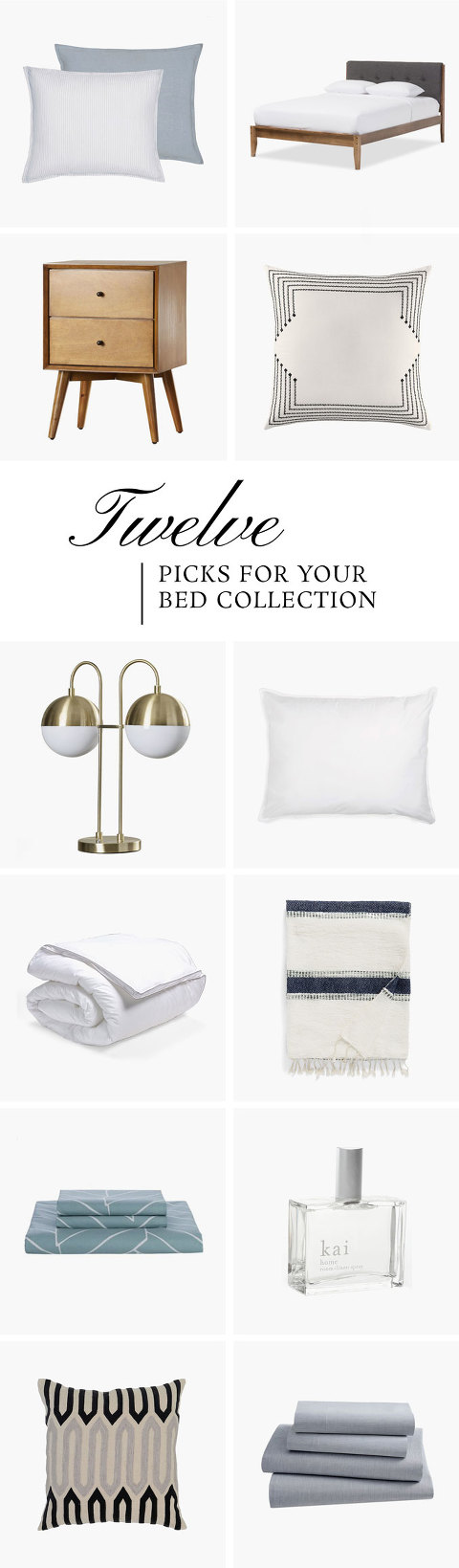 Everything You Need To Make Your Bed This Season | dreamgreendiy.com