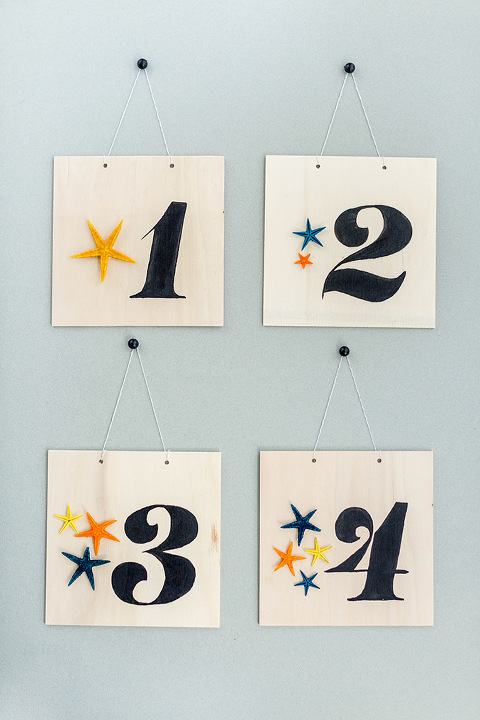 DIY Numbered Starfish Wall Art With Printable Template | dreamgreendiy.com + @orientaltrading