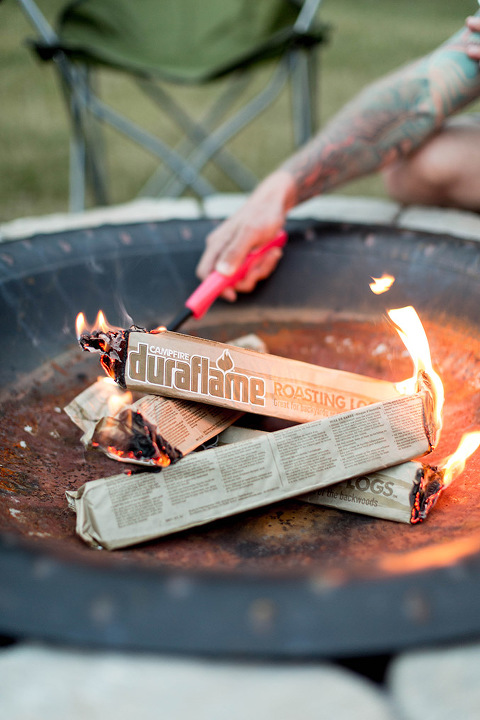 5 Precautions To Take At Your Festive Fire Pit Party | dreamgreendiy.com + @duraflame
