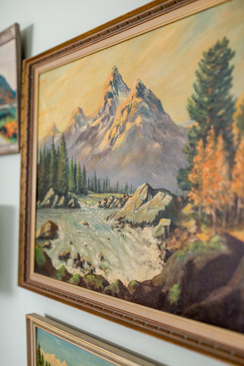 Thrifted Vintage Landscape Paintings