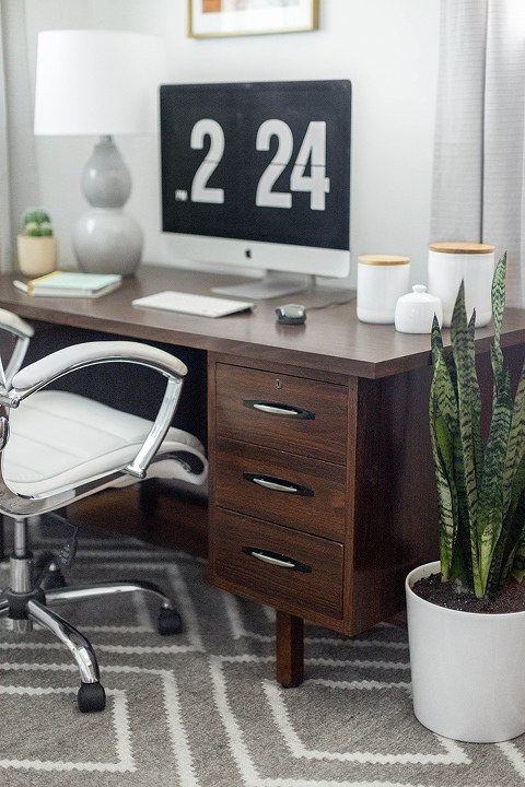 A Classic Mid-Century Office Makeover Reveal