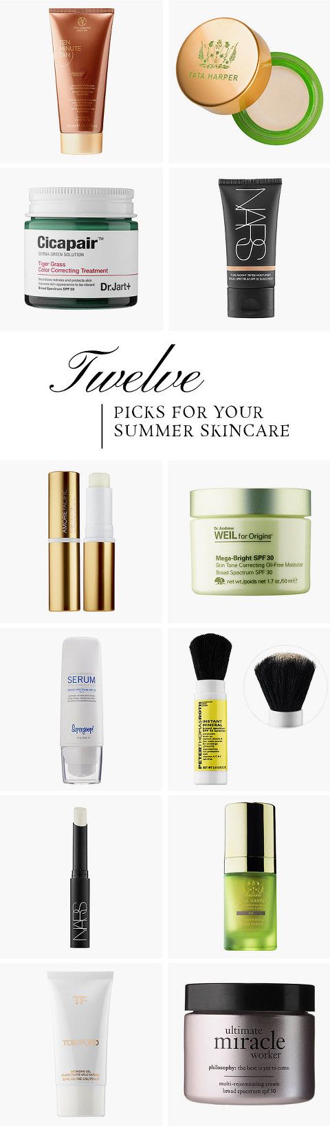 Everything You Need For Your Summer Skincare Collection | dreamgreendiy.com