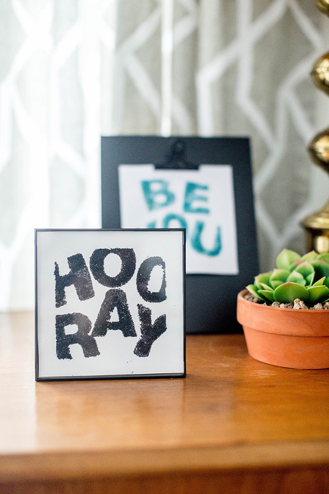 DIY Customizable Sand Art Quote | dreamgreendiy.com + @orientaltrading