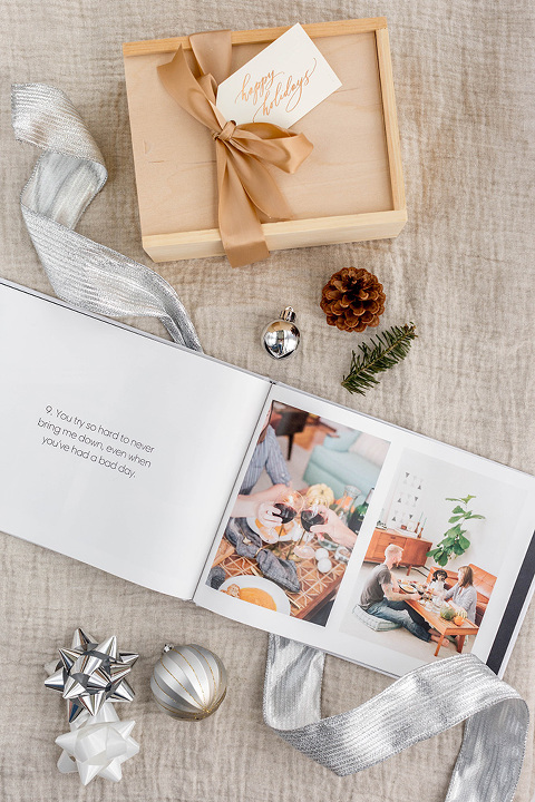 '12 Reasons Why I Love You' Photo Book Gift Idea | dreamgreendiy.com + @snapfish