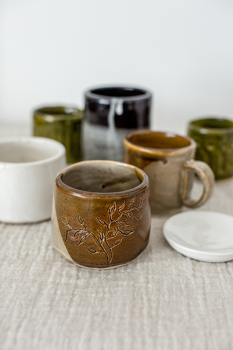 DIY Wheel-Thrown Clay Pottery Collection