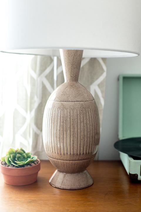 Thrift Store Score: A Mid-Century Ceramic Lamp