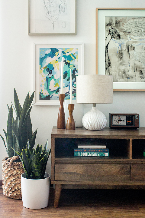How To Hide Your Tv In A Gallery Wall Dream Green Diy
