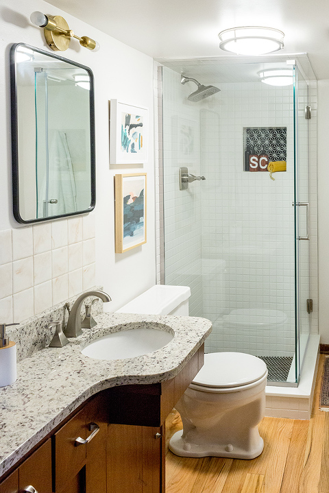 Revealing Our Renovated Hall Bathroom Dream Green Diy