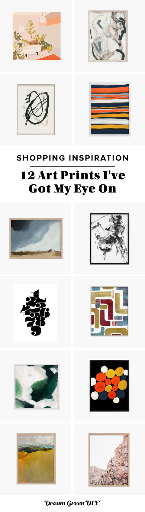 12 Art Prints I've Got My Eye On
