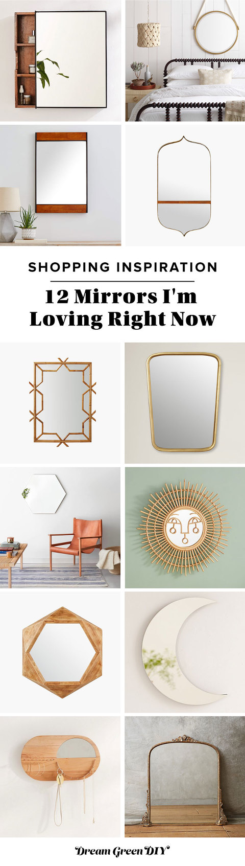 12 Mirrors I'm Loving Right Now